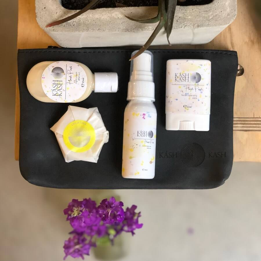 Flower Power After-Sun Travel Kit