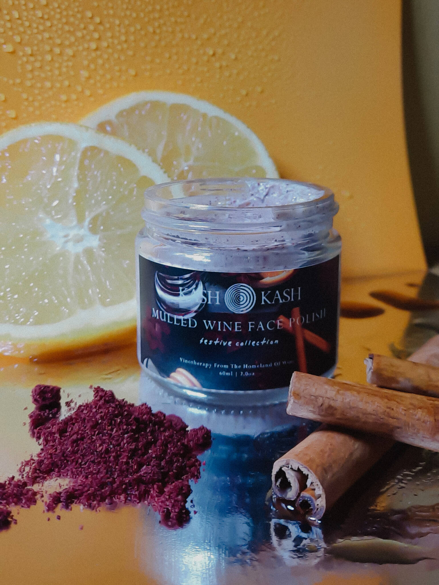 Mulled Wine Vinotherapy Face Polish 60 ml
